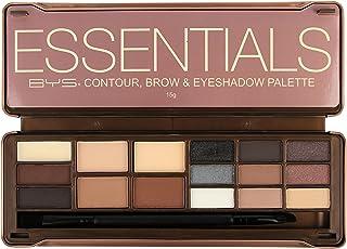 BYS Contour، Brow & Eyeshadow Palette - Essentials 15g / 0.5oz