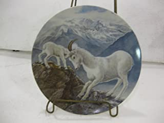 BanKhok Edwin M. Knowles Fine China-Signs of Love Collection-Plate 3 A Gentle Persuasion by Wildlife Painter Yin-Rei Hicks.8.5