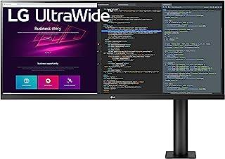 LG 34WN780-B 34 Inch 21:9 UltraWide QHD (3440 x 1440) Display Ergo with 3-Side Virtually Borderless Design and AMD FreeSyn...