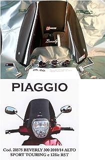 PARABREZZA PIAGGIO BEVERLY 400cc ART.22581 paravento