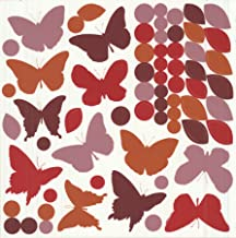 Fine Decor CR-42004 Wall Decor, Butterfly Silhouettes