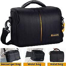 TARION Camera Case DSLR Gadget Shoulder Waist Camera Bag Waterproof Anti-Shock Compatible for Cameras Lens Flash