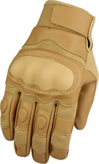 HONGYI Tactical Glove Full Finger Men`s Sports Outdoor Hard Knuckle Protection Screen Touch Mitten for Military Shooting Outdoor Cycling Riding Motorcycle Airsoft Paintball