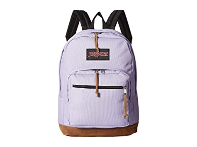 JanSport Right Pack (Purple Dawn) Backpack Bags