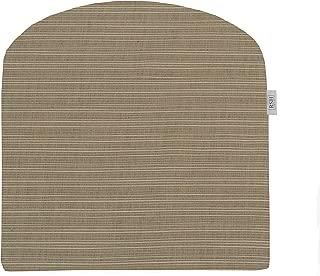RSH Décor Indoor ~ Outdoor Sunbrella Dupione Sand Foam Contour U-Shape Chair Cushion ~ (19x19x3)