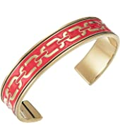 Marc Jacobs - Double J Enamel Printed Chain Cuff