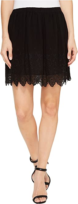 Lucky Brand - Black Lace Skirt