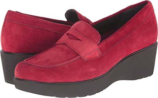 Red Calf Suede