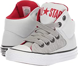Converse Kids - Chuck Taylor® All Star® High Street Heather Textile Fundamentals Hi (Little Kid/Big Kid)