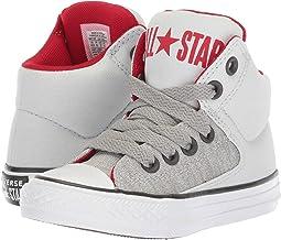Converse Kids Chuck Taylor® All Star® High Street Heather Textile Fundamentals Hi (Little Kid/Big Kid)