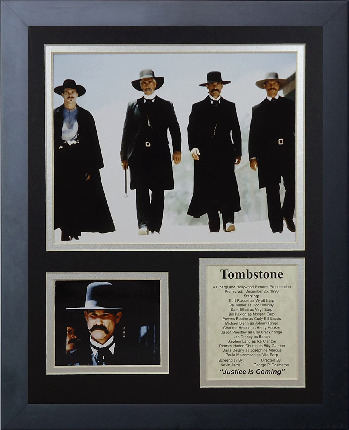 Legends Never Die Al sold out. Tombstone Brand Cheap Sale Venue Photo Collage 11x14-Inch Framed