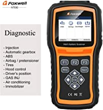 FOXWELL NT530 for VW Golf Citi Multi-System OBD2 Diagnostic Scanner SRS ABS DPF EPB Airbag TPMS Battery Reset