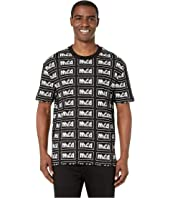 McQ - All Over Logo Dropped Shoulder T-Shirt