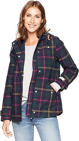 Coast Printed Waterproof Hooded Jacket