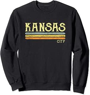 Vintage Kansas City Sweatshirt Love Gift Souvenir