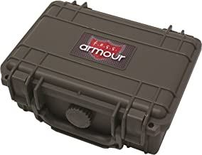F.e.s.s. Armour Waterproof Crushproof Air tight Floats On Water Grey Travel Cigar Humidor Capacity 10-15 Cigars