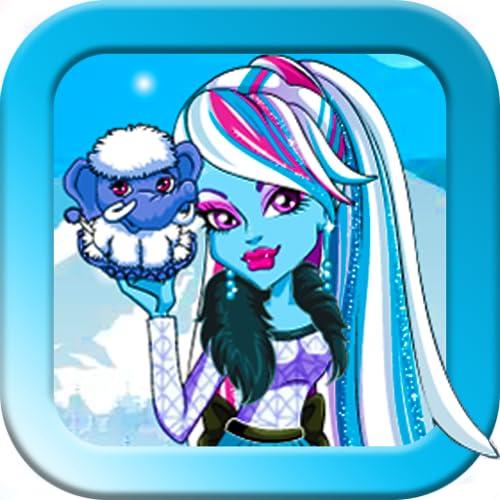 Monster girl and snow monster.