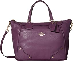 Grain Leather Mickie Satchel
