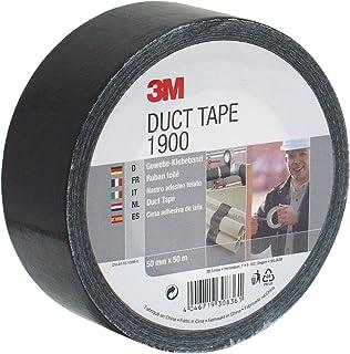 3M 36235 Duct Tape 1900 Nastro Telato per Riparazioni, Nero