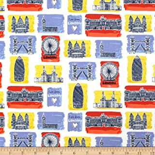 Best london print fabric Reviews
