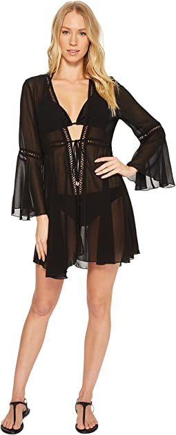 Laundry by Shelli Segal - Chiffon Kimono Cover-Up