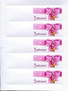 Amazonit Biglietti Battesimo Confetti