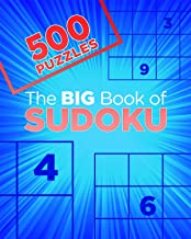 The Big Book Of Sudoku (Big Book of 500 Puzzles)