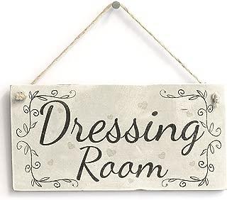 Meijiafei Dressing Room - Country Style PVC Home Decor Door Sign/Plaque 10