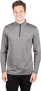 NFL Men's Quarter-Zip Active Pullover Shirt