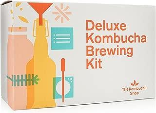 Deluxe Kombucha Brewing Kit – Six Swing Top Bottles, Stainless Steel Funnel, Custom..