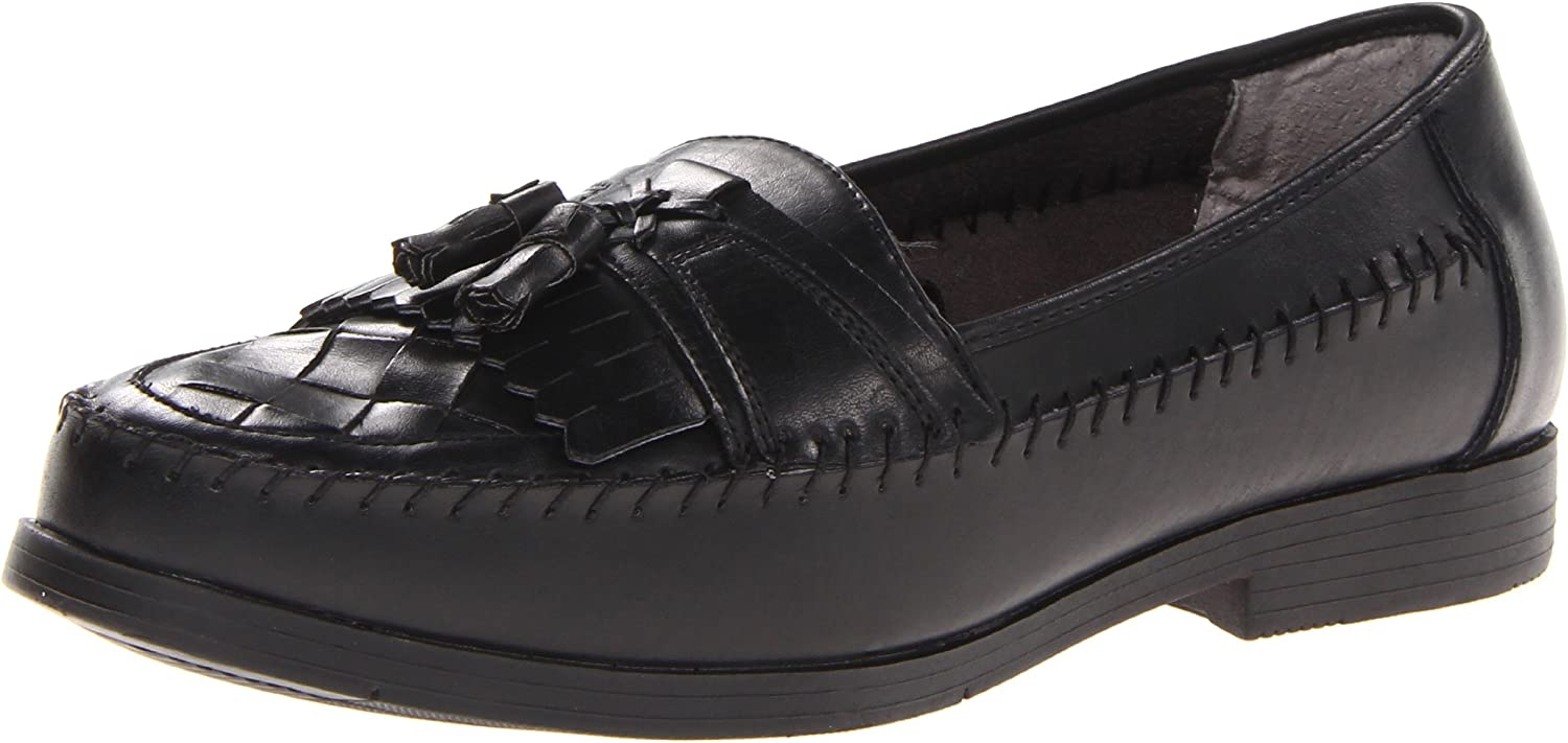 Deer Stags Men's Herman Slip-On Loafer,Black,9.5 M US