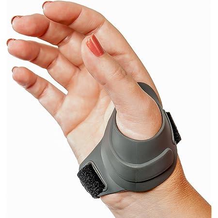 Solace Black Neoprene Sports Injury CMC Support Thumb Arthritis Wrap Brace
