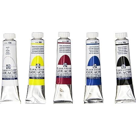 Set di 5 colori DESIGNERS GOUACHE per dipingere su cartoncino, da 20 ml [etichetta in lingua italiana non garantita]