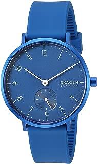 Skagen Aaren Colored Silicone 36mm Watch