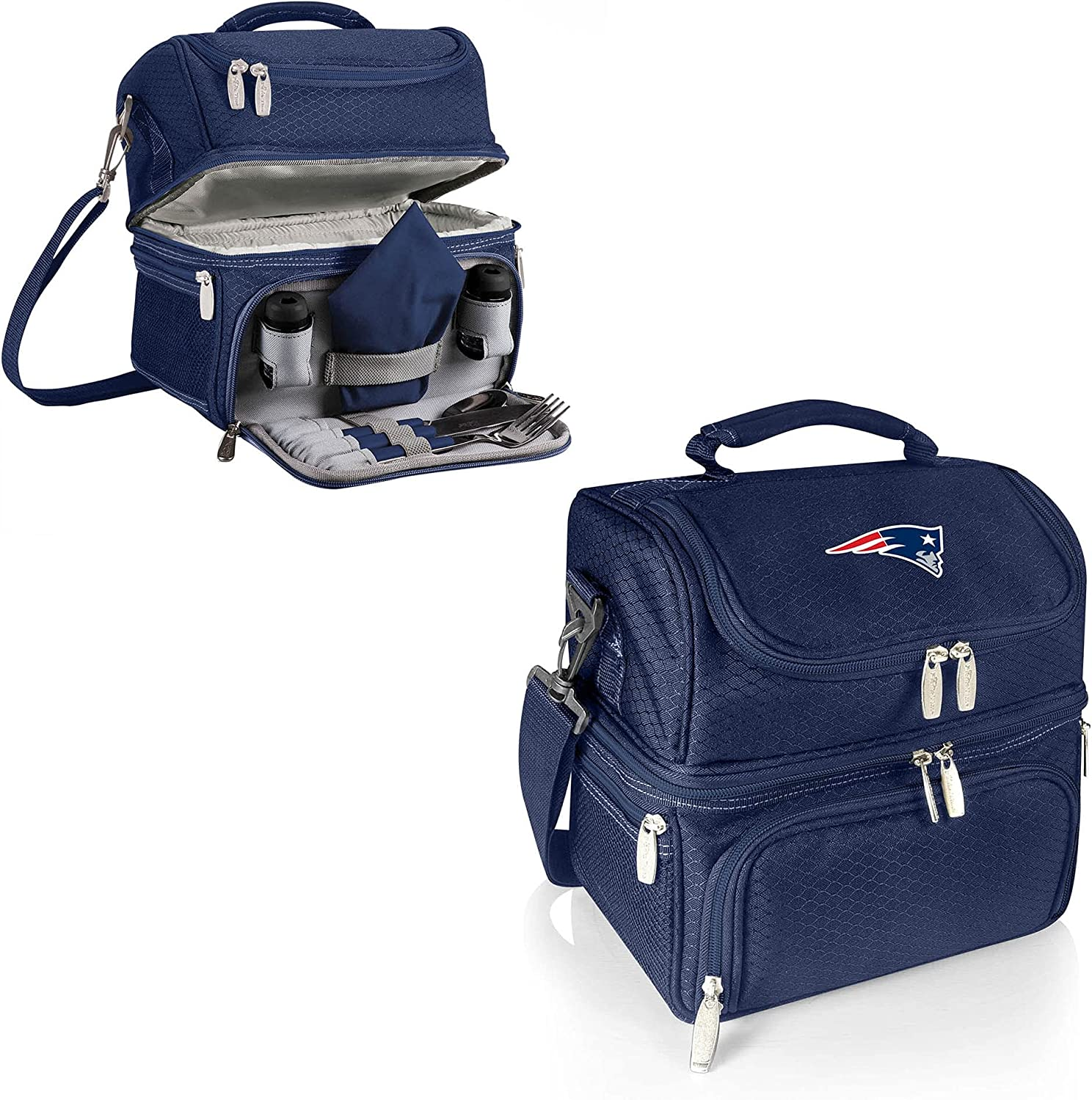 PICNIC TIME NFL Super Special SALE held New England Tote Patriots Pranzo Lunch Elegant Insulated