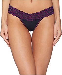 Heather Low Rise Thong