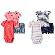 Baby Clothing BON BEBE 1-piece OUTFIT Creeper Body Suit 3//6  6//9 Months NWT