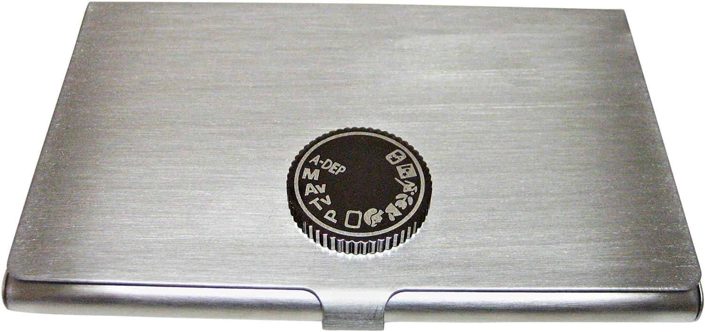 Camera Dial Business Card Holder