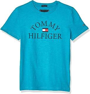 Tommy Hilfiger Essential Logo tee S/S Camiseta para Niños