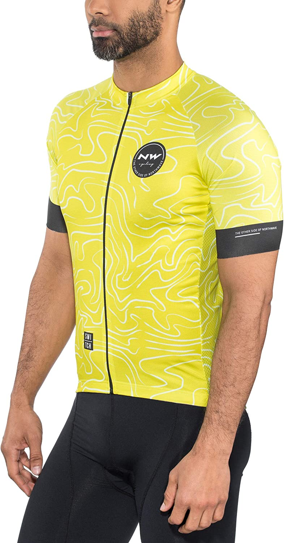 Northwave Lemonade Fahrrad Trikot kurz gelb 2019