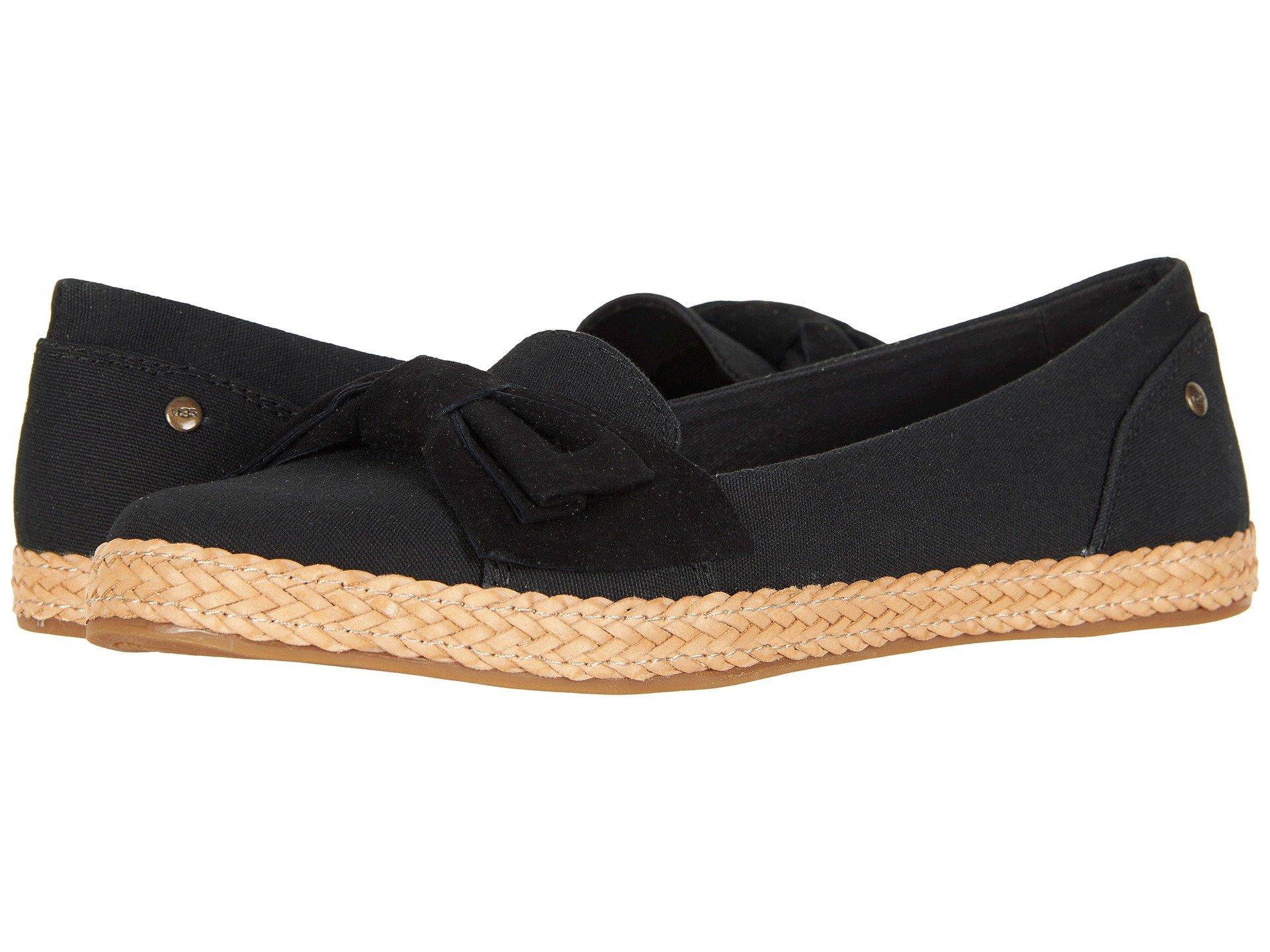 UGG Abigail (Black) Women's Slip on Shoes