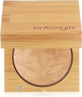 Antonym Cosmetics Ecocert Certified Organic Baked Foundation, Medium Beige