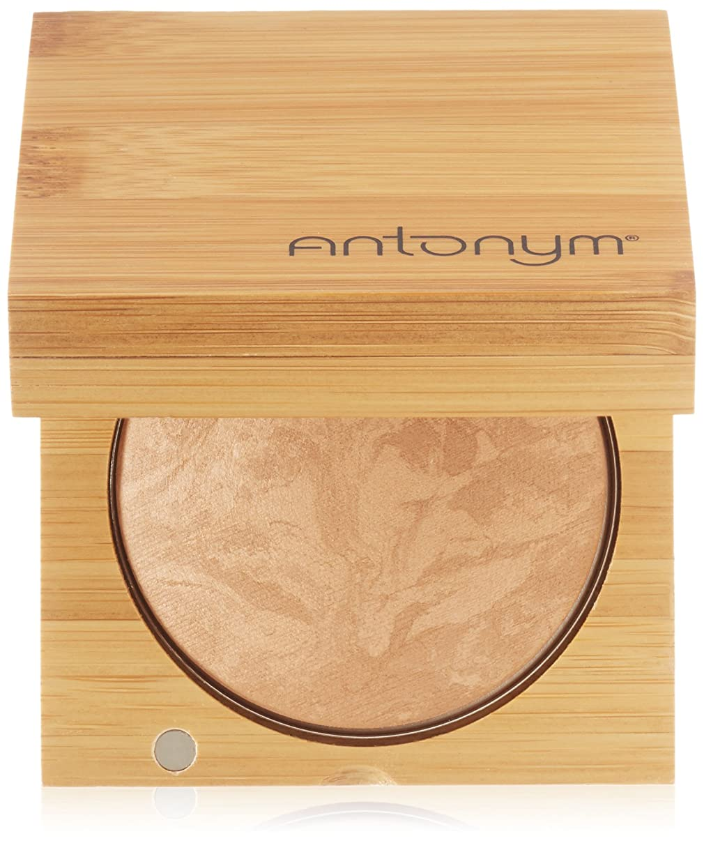 人形抜粋ゴールAntonym Cosmetics Ecocert Certified Organic Baked Foundation, Medium Beige by Antonym Cosmetics