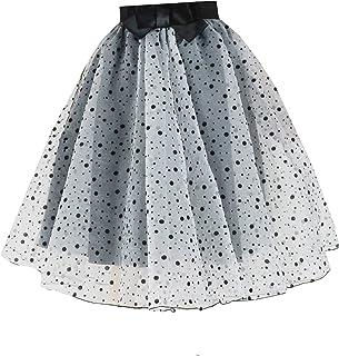 9e5345fe44 YSJ Lady's Organza Princess Skirt Bowknot Pleated Midi/ Knee Length TUTU  Skirts