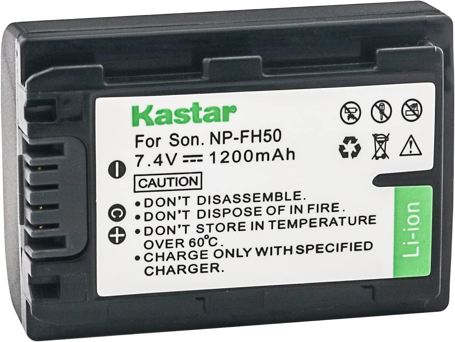 Kastar High Arlington Mall Super popular specialty store Capacity Replacement Lithium-Ion Camcorder R Battery