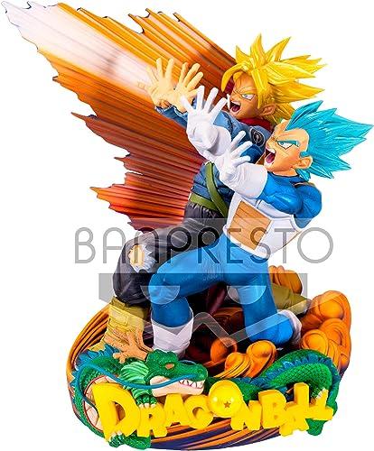 Banpresto - Figurine DBZ - Vegeta & Trunks Super Master Star Piece 20cm - 3296580805532