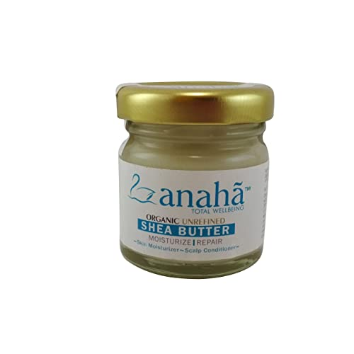 Anaha Organic Unrefined Raw Shea Butter, 30g