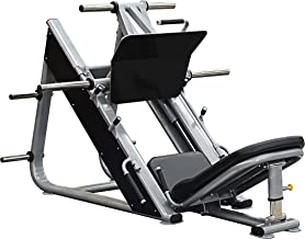 Bodykore 45 Degree Commercial Leg Press- Plate Loaded Club Series- (900lb Max Load) Model G277 (Black)