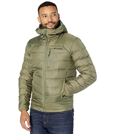 Columbia Autumn Parktm Down Hooded Jacket (Stone Green) Men
