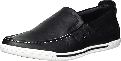 Unlisted by Kenneth Cole Men's Press Loafer, schwarz, 8 M US